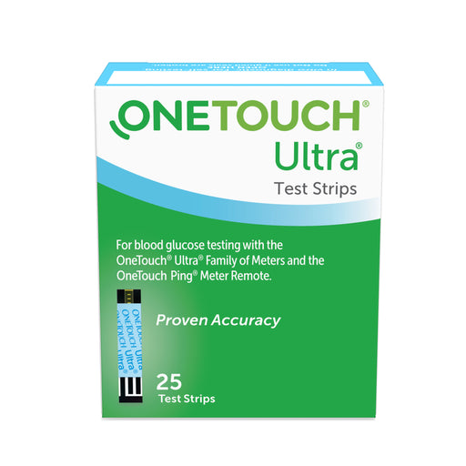 OneTouch Ultra Test Strips, 25 Count