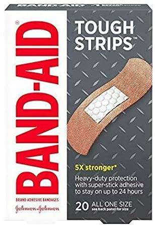 BAND-AID Tough-Strips Bandages