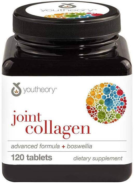 Youtheory Joint Collagen Type 2 Advanced Formula 120 Tablets