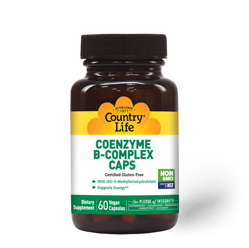 Country Life Coenzyme B-Complex Vegetable Capsules
