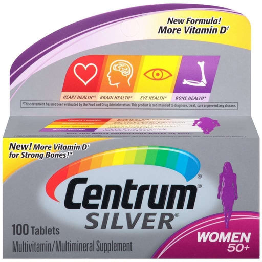 Centrum Silver Women Multi Vitamin & Mineral 50+