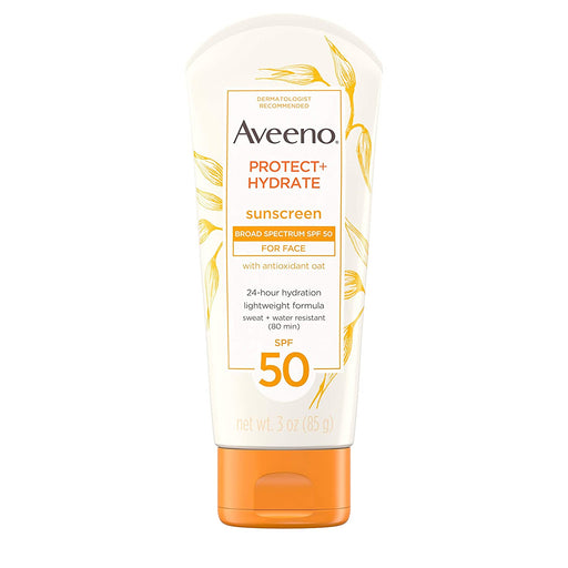 Aveeno Protect + Hydrate Moisturizing Sunscreen Lotion with Broad Spectrum SPF 50