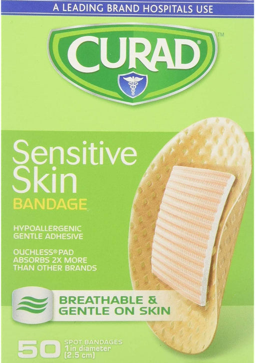 Curad Sensitive Skin Bandages Spots