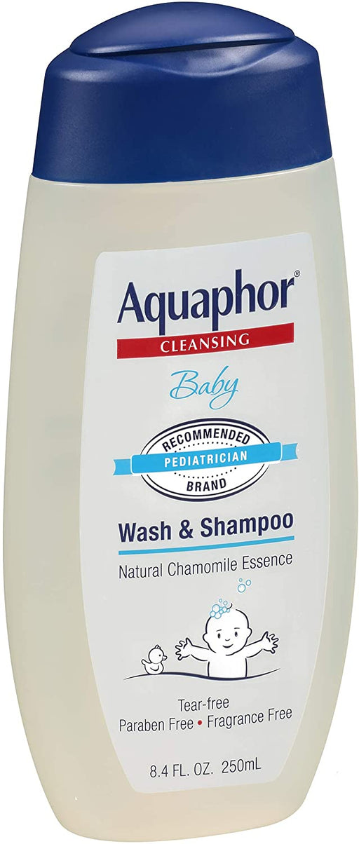 Aquaphor Baby Wash and Shampoo. 8.4 FL. OZ