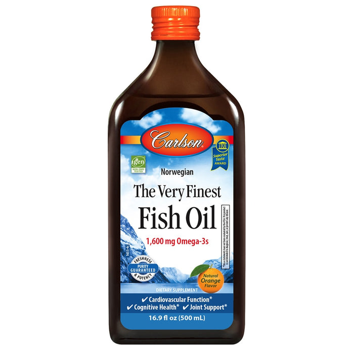 Carlson The Very Fish Oil Orange Flavored