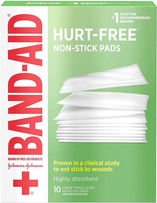 Band-Aid Adhesive Bandages, Non-Stick Pads