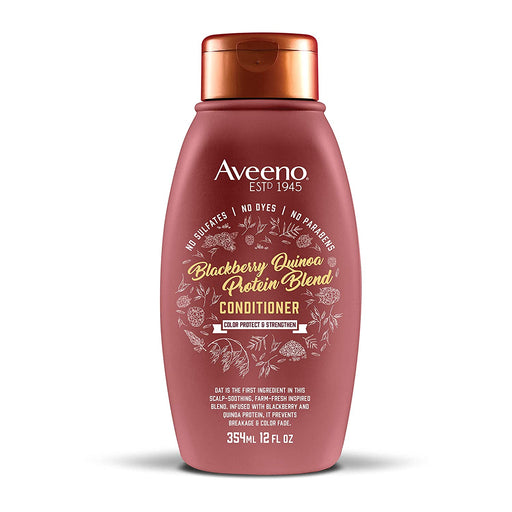 Aveeno Color Protect & Strengthen + Blackberry & Quinoa Conditioner (12oz)