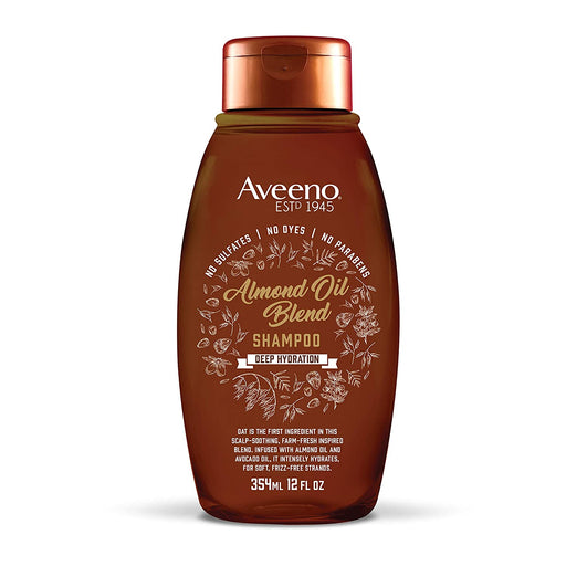Aveeno Shampoo Almond Oil Blend 12 oz