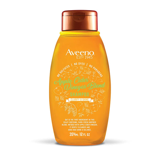 Aveeno Scalp Soothing Apple Cider Vinegar Blend Shampoo, 12 Oz