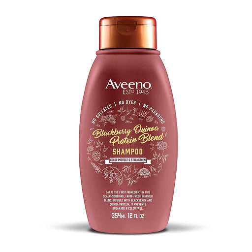 Aveeno Color Protect & Strengthen + Blackberry & Quinoa Shampoo (12oz)