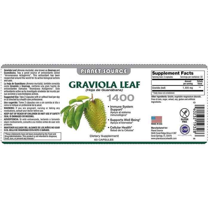Planet Source Graviola Leaf