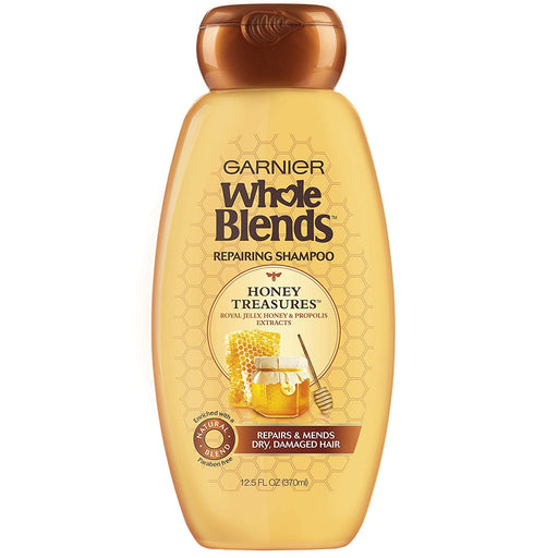 Garnier Whole Blends Repairing Shampoo Honey Treasures - 12.5 oz