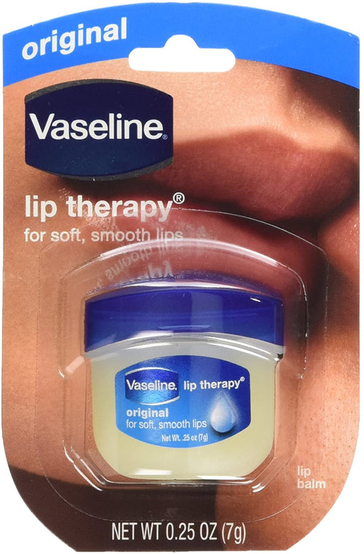 Vaseline Lip Therapy Original, .25 oz