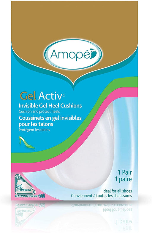 Amope GelActiv Ultra Slim Ball of Foot Insoles for Women