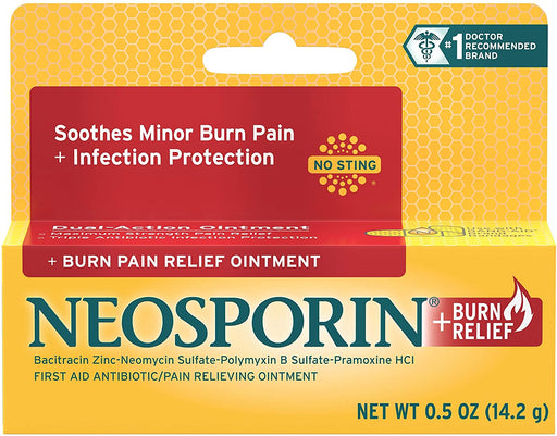 Neosporin Soothes Minor Burn Pain 0.5 OZ