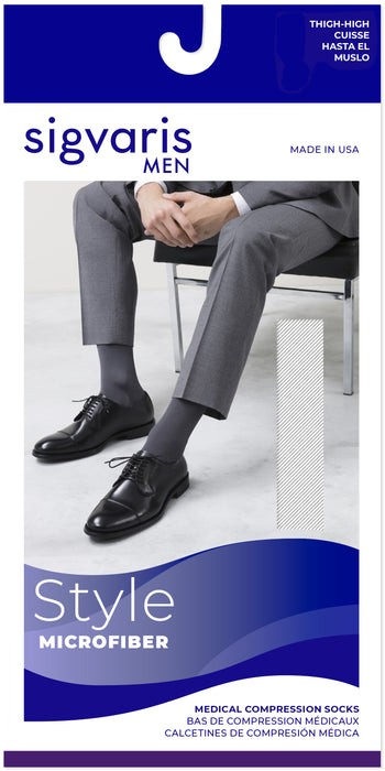 Sigvaris Men's Midtown Microfiber Thigh
