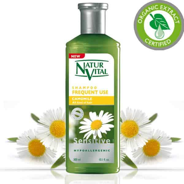Naturvital-Sensitive Shampoo Frequent Use