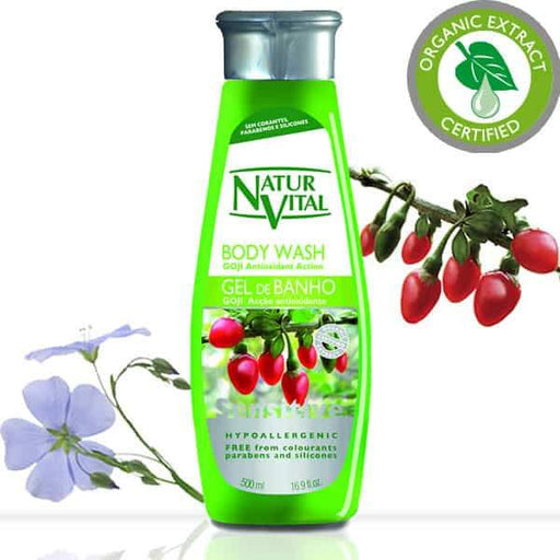 Naturvital-Sensitive Body Wash