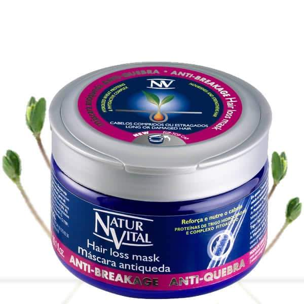 Naturvital-Hair Loss  Mask In Jar Anti-Breakage
