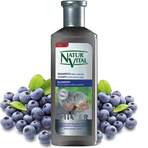 Naturvital-Shampoo White Or Grey Hair