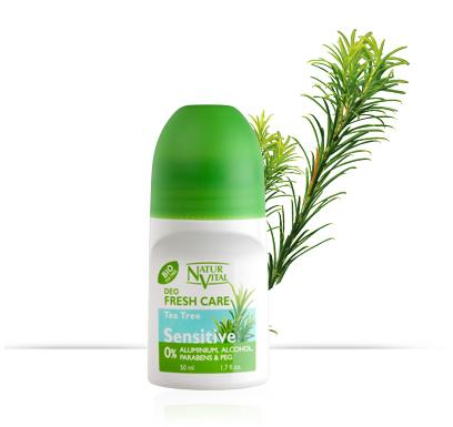 Naturvital-Tea Tree Oil Deodorant