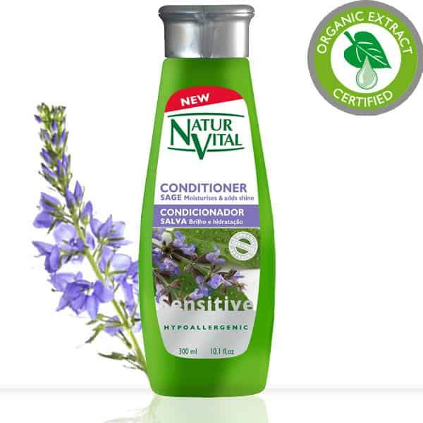 Naturvital-Hair Conditioner  Sage Sensitive