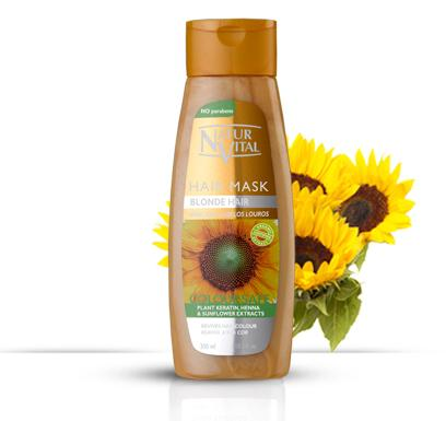 Naturvital-Coloursafe Blonde Hair Mask