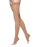 Sigvaris Women's Essential Opaque Thigh-High Open-Toe