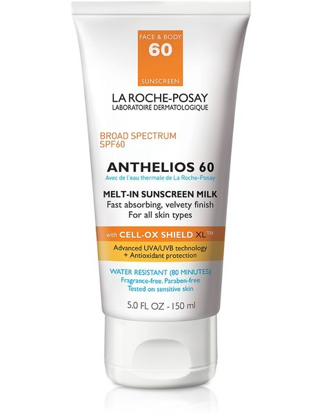 La Roche-Posay Anthelios Spf 60 Melt-In Sunscreen Milk , Face And Body