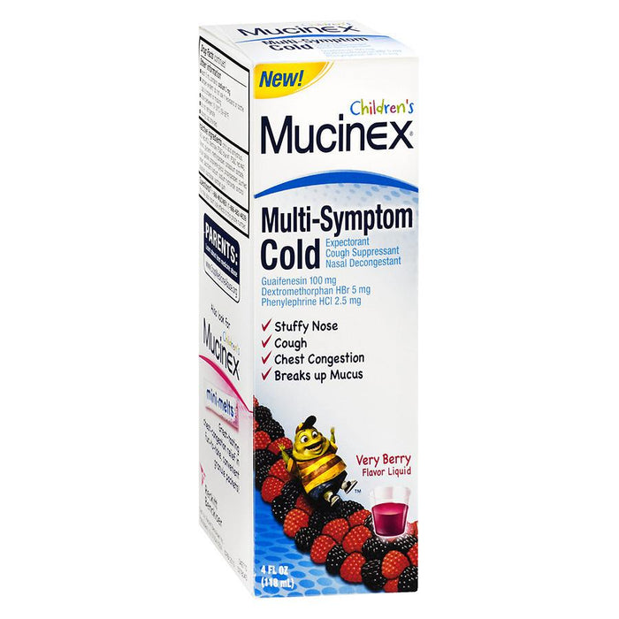 Children's Mucinex Multi-Symptom Cold Berry 4.0 fl oz