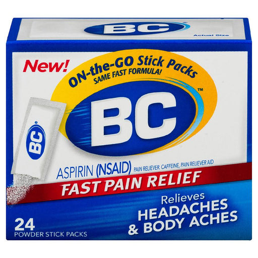 BC Fast Pain Relief Aspirin Powders
