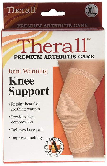 THERALL KNEE SUPPORT JOINT WARMING BEIGE XL