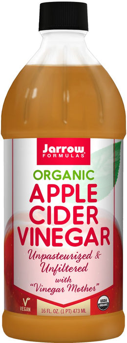 Jarrow Organic Apple Cider Vinegar 16 oz