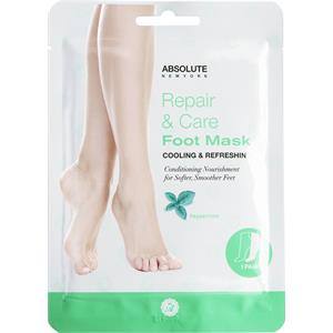 Absolute New York- Repair & Care Foot Mask (Peppermint)- 1 pair/pack