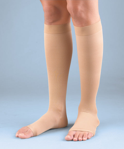 Activa Soft Fit Knee High  with Open Toe Moderate Support, Class I  MODEL: H304