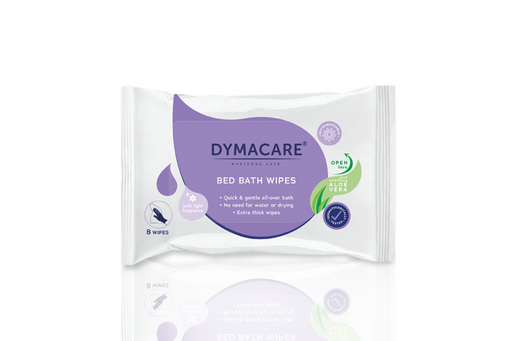 Dymacare® Fragranced Bed Bath 8 wipes