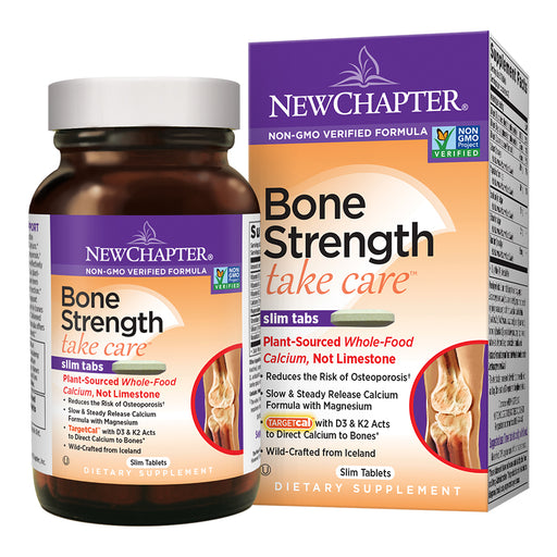 New Chapter Bone Strength Take Care Calcium Supplement