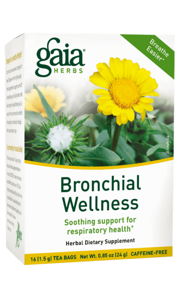 Gaia Herbs Bronchial Wellness Tea
