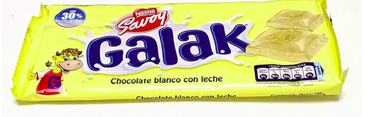 Nestle Savoy Galak Chocolate Blanco 130 gr