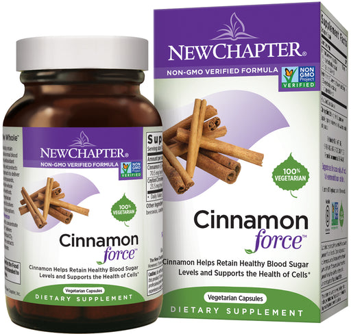 New Chapter Cinnamon Supplement Blood Sugar Support