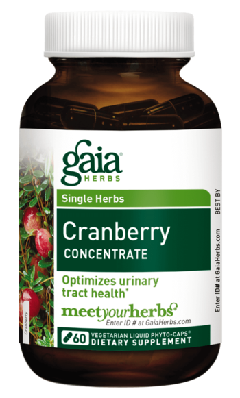 Gaia Herbs Cranberry Concentrate