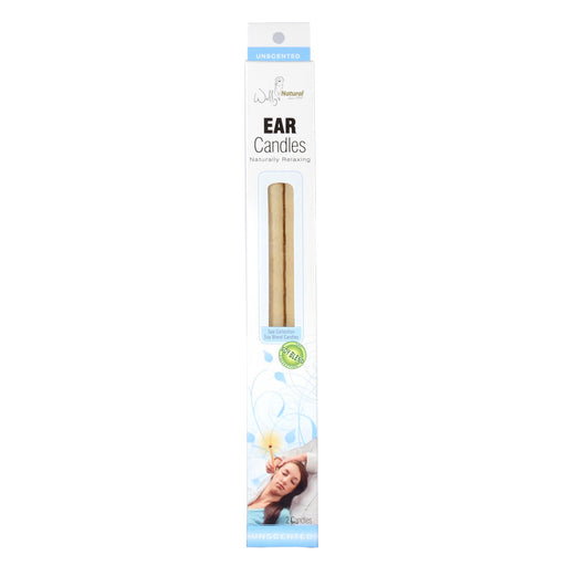 Wally's Natural Ear Candles Soy Blend, 2 Candles.