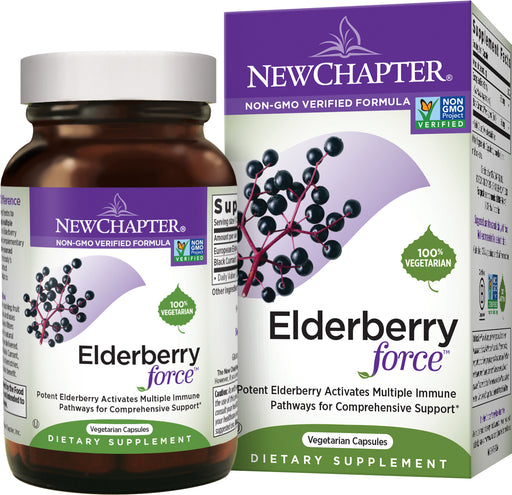 New Chapter Elderberry Force Elderberry Supplement