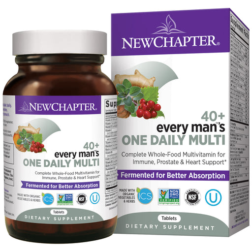 New Chapter Every Man's One Daily 40+ Men's Multivitamin