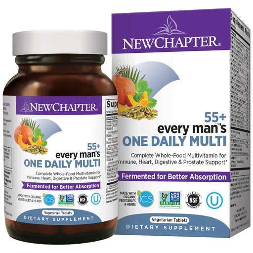 New Chapter Every Man's One Daily 55+ Multivitamin for Men 50 Plus