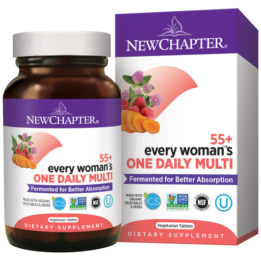 New Chapter Every Woman's One Daily 55+ Multivitamin for Women 50 Plus