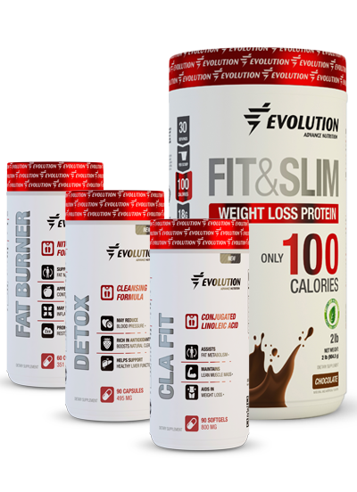 Evolution Advance Nutrition Fit & Slim Accelerated Fat Loss Stack - Chocolate
