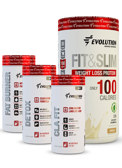 Evolution Advance Nutrition Fit & Slim Accelerated Fat Loss Stack - Vanilla