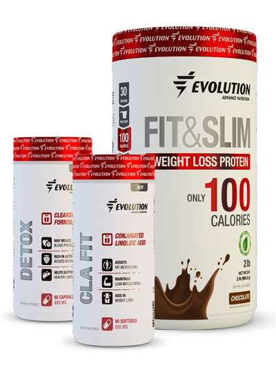Evolution Advance Nutrition Fit & Slim Fat Loss Stack - Chocolate