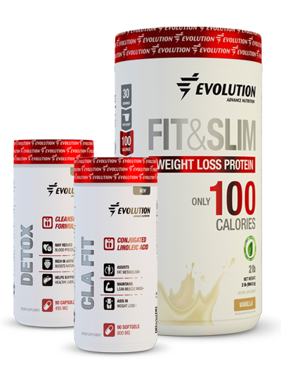 Evolution Advance Nutrition Fit & Slim Fat Loss Stack - Vainilla